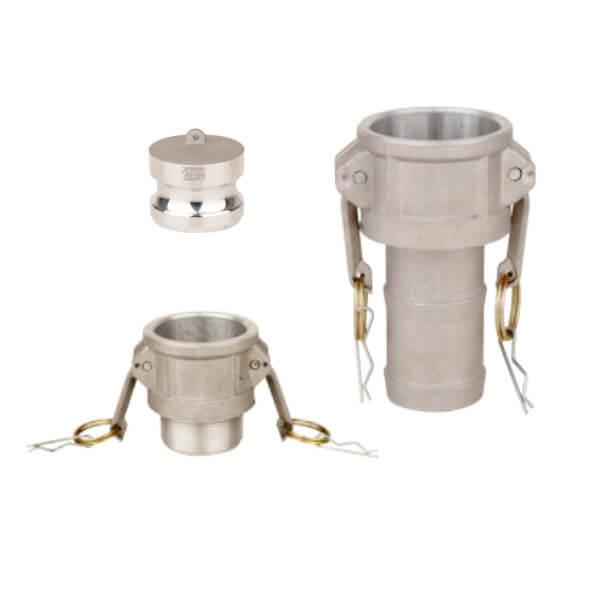 Conectores Camlock - alumínio