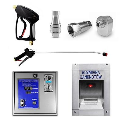 Acessórios para lavagens automáticas de automóveis