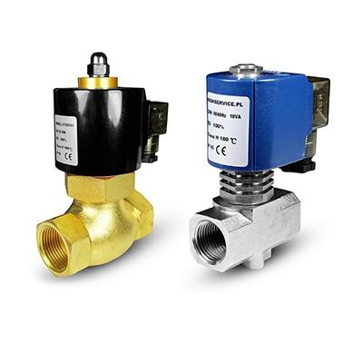Válvulas de água quente e solenóide da água 180 ° C