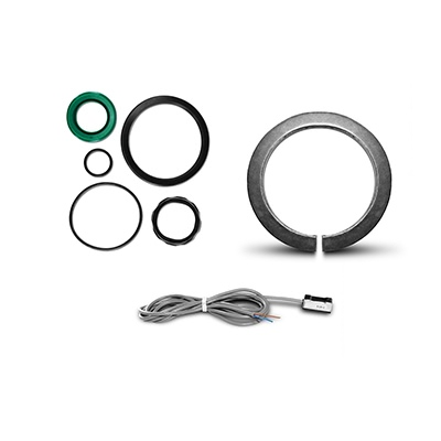 Componentes para atuadores ISO 15552/6431