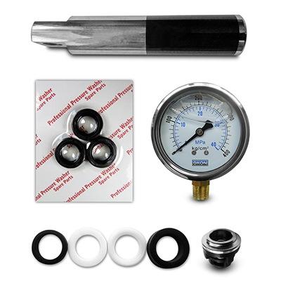 Subconjuntos para bombas de alta pressão