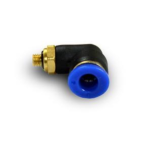 Mangueira angular para mamilo 6mm rosca M5 PL06-M05