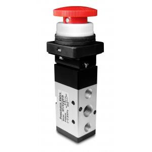 Válvula manual 5/2 MV522EB Atuadores de 1/4 de polegada