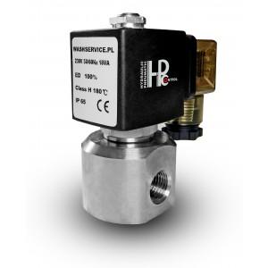 Válvula solenoide RM22-05 ss316 de aço inoxidável de 1/4 de polegada 230V 12V 24V