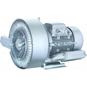 Ventilador de canal lateral, bomba de ar Vortex, turbina, bomba de vácuo com dois rotores SC2-5500 5,5KW