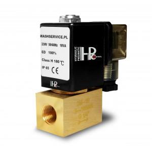 Válvula solenóide 2M10 3/8 de polegada 0-16bar 230V 24V 12V