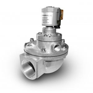Válvula solenóide de pulso para limpeza de filtros 1 1/2 polegadas MV45T