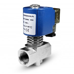 Válvula solenóide para vapor RV15 1/2 polegada 180C