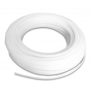 Mangueira pneumática de poliamida PA Tekalan 12/9 mm 1m branco