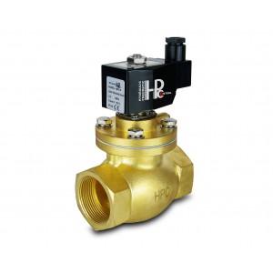 Válvula solenóide para vapor e alta temperatura. aberto LH40-NO DN40 200C 1,5 polegadas