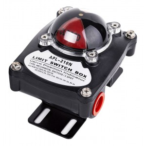 Caixa de interruptores Limis para o atuador pneumático AT