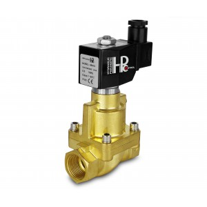 Válvula solenóide para vapor e alta temperatura. RH25 DN25 200C 1 polegada