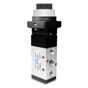 Válvula manual 5/2 MV522TB Atuadores de 1/4 de polegada