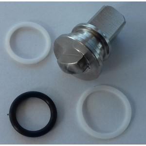 Kit de reparo para válvula de esfera de 3 vias de alta pressão 1/4 de polegada ss304 HB3