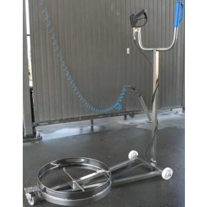 Dispositivo para lavagem de chassis de automóvel - lavagem de chassis de automóvel