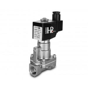 """Válvula solenóide para vapor e alta temperatura. RH15-SS DN15 200C Aço inoxidável 1/2 """"SS304"""