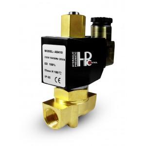 Válvula solenóide aberta 2N10 NÃO 3/8 de polegada 0-10 bar 230V 24V 12V 42V 110V