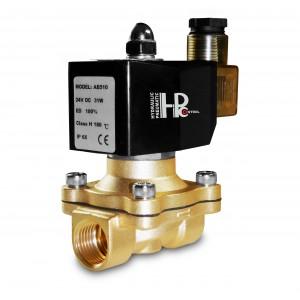 Válvula solenóide 2N20 3/4 polegada 230 V ou 12 V, 24 V, 42 V