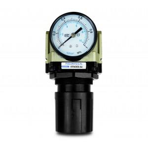 Manômetro regulador redutor 1/2 polegada AR4000-04