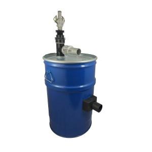 Tanque do aspirador de 60l com limpeza do filtro de ar comprimido