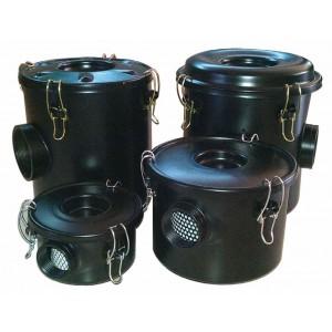 Ventilador de canal lateral, filtro de ar com alojamento para bomba de ar de vórtice de 2 polegadas