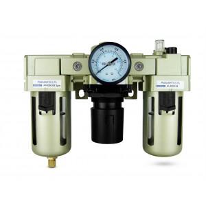 Filtro desidratador regulador lubrificador FRL 1/2 polegada definido para arejar AC4000-04