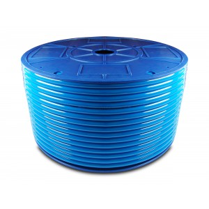 Mangueira pneumática de poliuretano PU 12/8 mm 1m azul