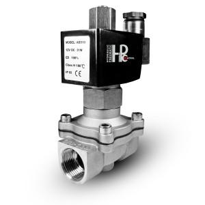 Válvula solenóide aberta 2N15 NÃO 1/2 polegada SS304 de aço inoxidável 230V ou 12V, 24V, 48V