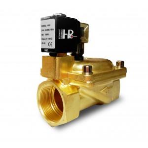 A válvula solenóide 2K50 abre NO 2 polegadas 230V ou 12V 24V