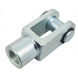 Atuador de cabeça articulada Y M8 20mm ISO 6432