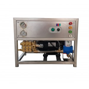Defina a bomba e o motor na estrutura para lavar com acessórios 13 l / min 150 bar equivalente CAT350