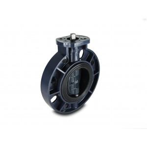 Válvula borboleta, acelerador UPVC DN80