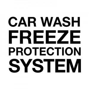 Sistema de proteção anticongelante para lavagem