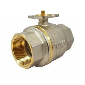 Válvula de esfera 1 1/2 polegada DN40 PN25 placa de montagem ISO5211
