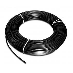 Mangueira pneumática de poliamida PA Tekalan 10/8 mm 1m preto