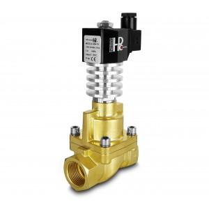 Válvula solenóide para vapor e alta temperatura. RHT25 DN25 300C 1 polegada