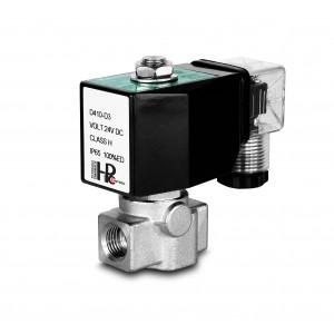 Válvula solenóide de alta pressão HP15-M aço inoxidável SS304 110bar