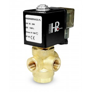 Válvula solenóide de 3 vias 3V 3x1 / 4 inch 230V 24V 12V