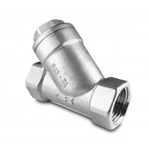 Filtro de ângulo em aço inoxidável SS304 de 1 polegada