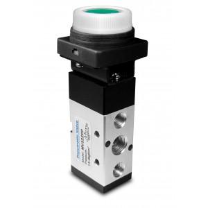 Válvula manual 5/2 MV522PP Atuadores de 1/4 de polegada