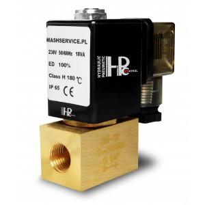 Válvula solenóide 2M08 1/4 de polegada 0-16bar 230V 24V 12V