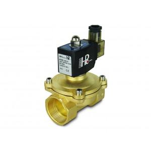 Válvula solenóide 2N32-M NO DN32 1 1/4 de polegada 230V 24V 12V
