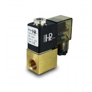 """Válvula solenóide 2V08 1/4 """"polegadas 230V ou 24V, 12V"""