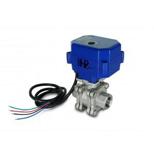 Válvula de esfera de alta pressão PN125 de 1/2 polegada com acionamento do atuador A80 ou A82