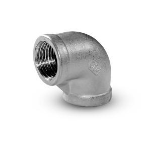Rosca interna de joelho de aço inoxidável 1 polegada