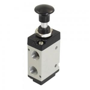 Válvula manual pressionada 5/2 4L210 1/4 de polegada para atuadores