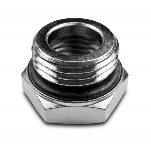 Redução de 1/2 - 3/8 de polegada com o-ring