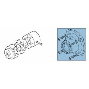 Embreagem + adaptador para kit de bomba RO