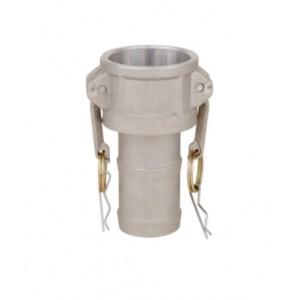 Conector Camlock - tipo C 1/2 polegada DN15 de alumínio