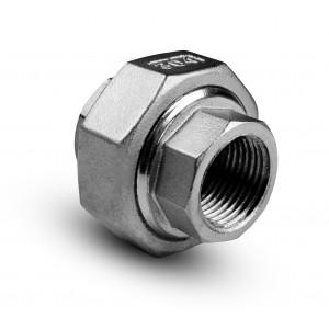 Alargamento rosca interna de aço inoxidável 1 polegada
